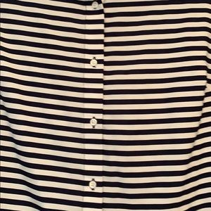 Banana Republic Tops - Banana republic blue and white button down blouse
